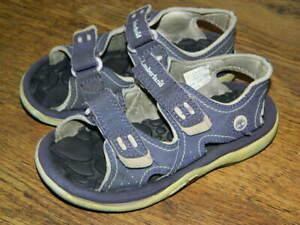 Timberland purple synthetic hook&loop sandals uk 10 eur 28