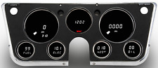 1967-1972 Chevy Truck Digital Dash Panel White LED Gauges Made In The USA