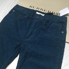 BURBERRY garçon velours pantalon jeans 12 ans magnifique 100% Authentique BNWT