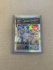 2016 DONRUSS OPTIC AARON RODGERS SILVER HOLO #36 GREEN BAY PACKERS