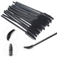 100Pcs Disposable Mascara Wands Eyelash Brush Spooler Lash Extension Applicator