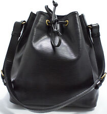 Louis Vuitton Rare EPI Petit NOE Bag Tasche ELEGANT Black Schwarz Shoulder Bag 1