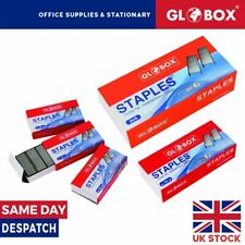 More details for staples no:10 or 24/6 - pack of 1000 or 10000 -  globox high quality