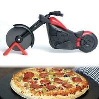 Edelstahl Pizzaschneider Motorrad Modell Pizzaschneider Werkzeug Kitchen I4X2