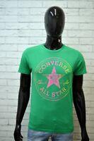 Maglia Uomo ALL STAR CONVERSE Taglia S Polo Camicia Shirt Man Manica Corta
