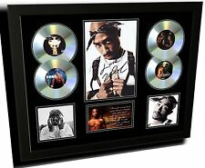 TUPAC SIGNED LIMITED EDITION FRAMED MEMORABILIA