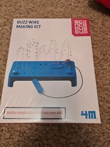 Science Museum, Buzz Wire Making Kit. Educational Toy Activity.