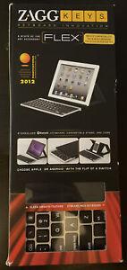 ZAGG Flex FOLZKFLEXSLV Wireless Keyboard, New, b2