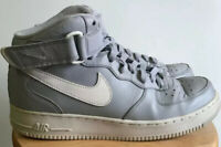 Nike Air Force 1 Mid '07 Wolf Gray & White Mens Size 9.5 315123-033 Shoes