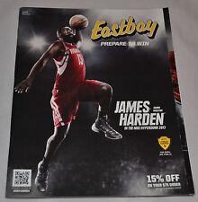 MINT! Eastbay Catalog JAMES HARDEN Cover HOUSTON ROCKETS #13 October 2013 Nike
