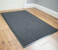 More details for grey barrier mat runner non slip heavy duty machine washable entryway kitchen