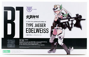 Kotobukiya Megami Device B1 Type Jaeger Edelweiss Model Kit KP476 USA IN STOCK