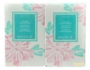 Avon Long Lasting Perfumed Liquid Deodorant Floral Scent For Women 2 oz 2 Pack