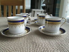 SET OF 6 PARAGON STIRLING  COFFEE CUPS & SAUCERS
