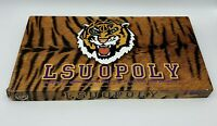 LSUopoly LSU Tigers Monopoly Style Board Game NCAA Collegeopoly