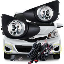 For 2012 ~ 2014 Toyota Yaris 3/5Door  Hatchback L LE Fog Lamp Driving Light/1Set