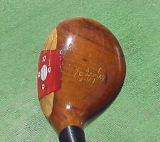 PERSIMMON Macgregor MT2W Refinished RH Golf Club 3 Wood w New Midsize Tour Grip