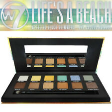 W7 Cosmetics Life's a Beach Eye 12 Colour EyeShadow Matte Shimmer Shades Palette