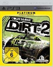 Playstation 3 COLIN MCRAE DIRT 2 Platinum  DEUTSCH GuterZust.