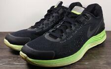 Nike Lunarglide+ 4 Shield Men's Size 12 Black/Green 537475-003 Running Shoes