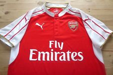 Arsenal Puma 2015-2016 Football Soccer shirt jersey Top Medium