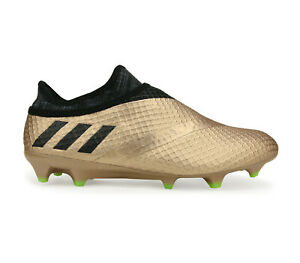 Adidas Men's MESSI 16 + PUREAGILITY FG Soccer Cleats Copper/Black BA9821 b