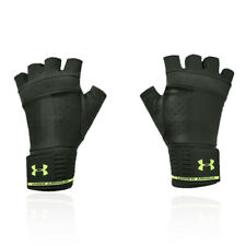 Under Armour Unisex Weightlifting Gloves Green Sports Gym Breathable