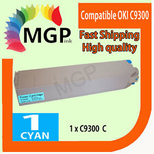 1x Cyan Compatible Toner cartridge for OKI C9300 C9500 9300 9500 Color Printer