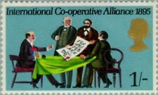 GREAT BRITAIN -1970- Signing of International Co-operative Alliance - MNH - #614
