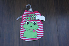 Dog clothing size S Sloppy Kisser Dog clothing size Small Dog shirt Sloppy Kiss
