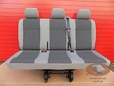 Bench rear triple seat VW T5 Transporter TIMO grey