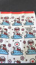 Sanrio Hello Kitty Towel Mt. Fuji Cherry Blossoms