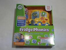 LeapFrog Fridge Phonics Magnetic Letter Set ridge Phonics helps children learn a