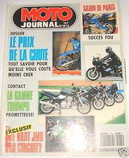Moto Journal Salon de Paris 91 Succes Fou