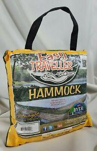 Byer of Maine Easy Traveller Hammock Green, Lightweight, Compact, 275 lb limit