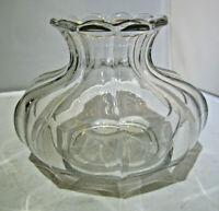 """Vintage Heisey Glass Orchard Vase """"Peerless"""""""
