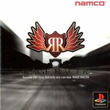 Used PS ONE Namco Rage Racer  PS1 SONY PLAYSTATION JAPAN IMPORT