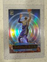 2019-20 DONRUSS OPTIC LEBRON JAMES T-MINUS 3,2,1 Holo Silver PRIZM #9 LAKERS