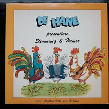 DE HANE ( o.l.v. Hardy Mertens) PRESENTIERE STIMMUNG & HUMOR -  LP