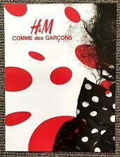 Rare 2008 Vogue Magazine Art Advert Picture for H&M x Comme des Garcons Logo Ad