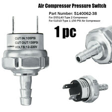 Air Compressor Pressure Switch 105/135 PSI For DeWalt 5140062-38 D55140