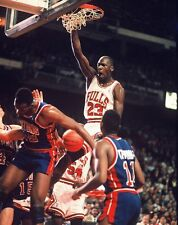 1989 MICHAEL JORDAN Chicago Bulls BASKETBALL ACTION Photo 8x10 PICTURE JORDAN IV