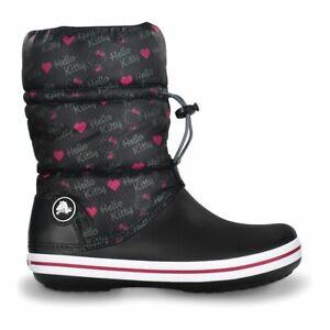 Stivale anti pioggia CROCS caloche CROCBAND winter boot HELLO KITTY W 7 N 37-38