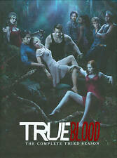 True Blood Season 3 5 DVD New Sealed Anna Paquin, Stephen Moyer Factory Sealed!