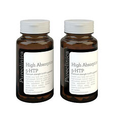 Huge 300mg 5-HTP - 6 Months supply WITH 220mg Vitamin C, B6, & black pepper