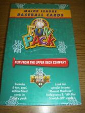 1993 Upper Deck Baseball Fun Pack Factory Sealed Box