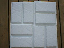 DIY KIT 12 MOLDS & SUPPLIES MAKE 100s OF 6x12x1.5 BRICK PATIO PAVERS FOR PENNIES