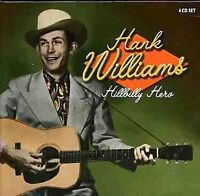 HANK WILLIAMS Hillbilly Hero SEALED Box Set 4 CD UK Pressing 100+ SONGS!