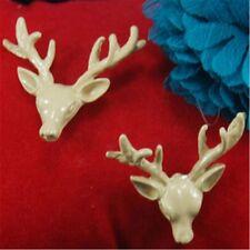 Art Deco vintage style reindeer deer earrings