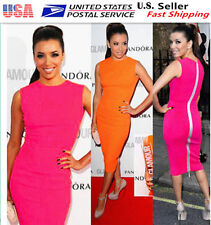 New Women FORMAL Office LADY Party Evening Cocktail  Bodycon Pencil Dress L2